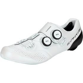 Shimano SH-RC9 S-Phyre Scarpe Da Ciclismo, bianco